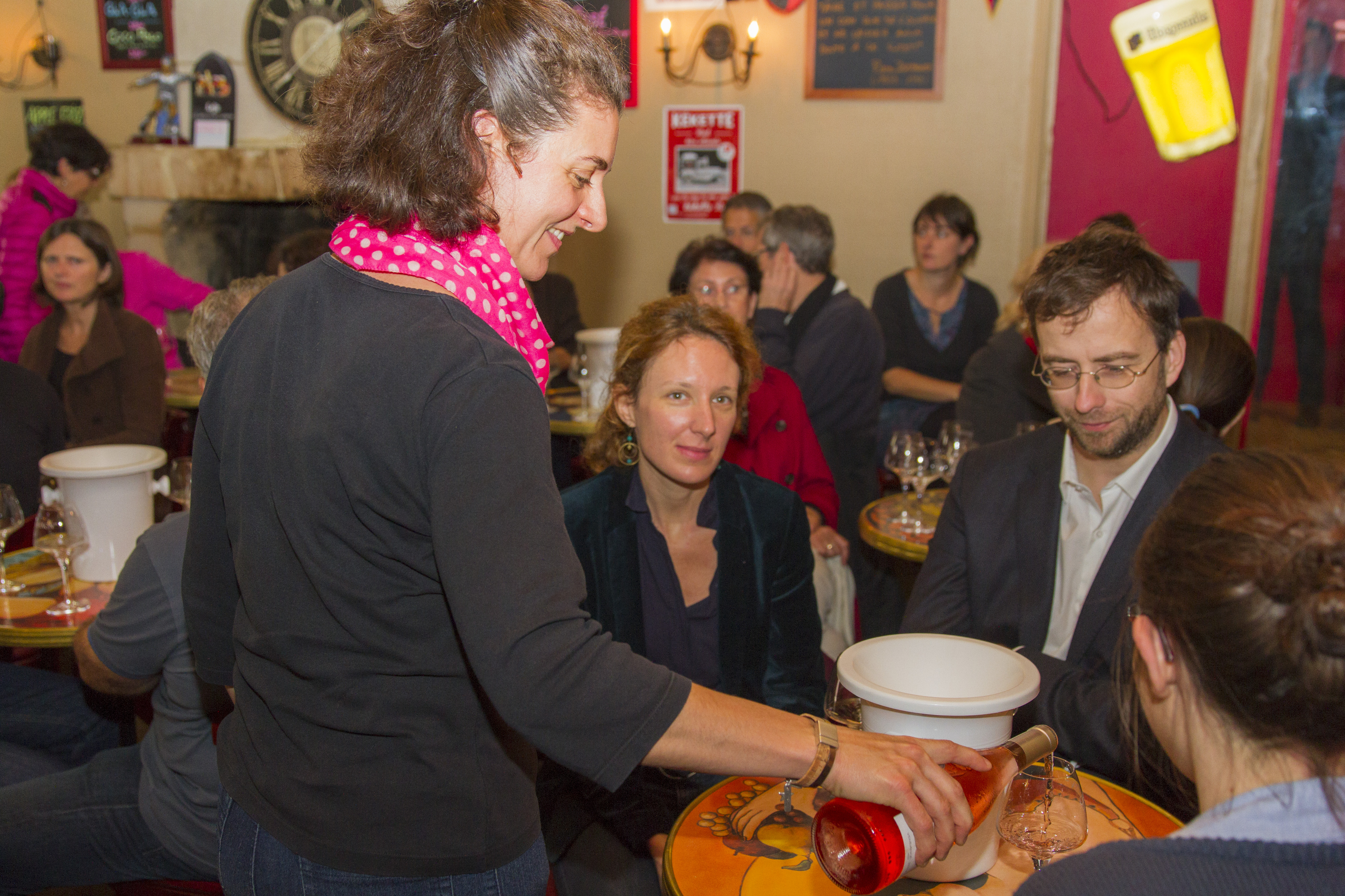 Café Français dégustation vin de Chinon dimanche 8 novembre 2015