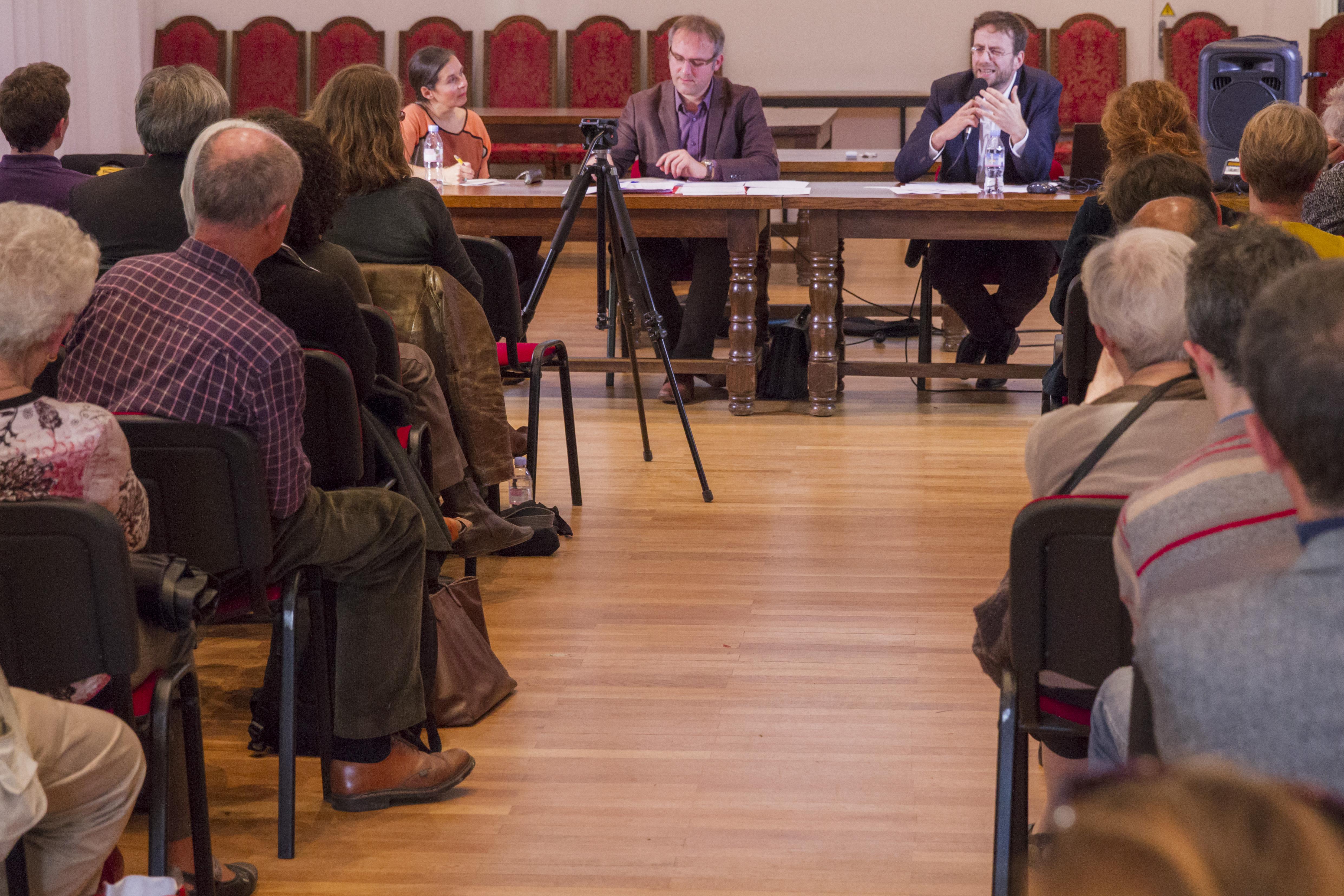 Conférence avec Loïc Bienassis samedi 7 novembre 2015