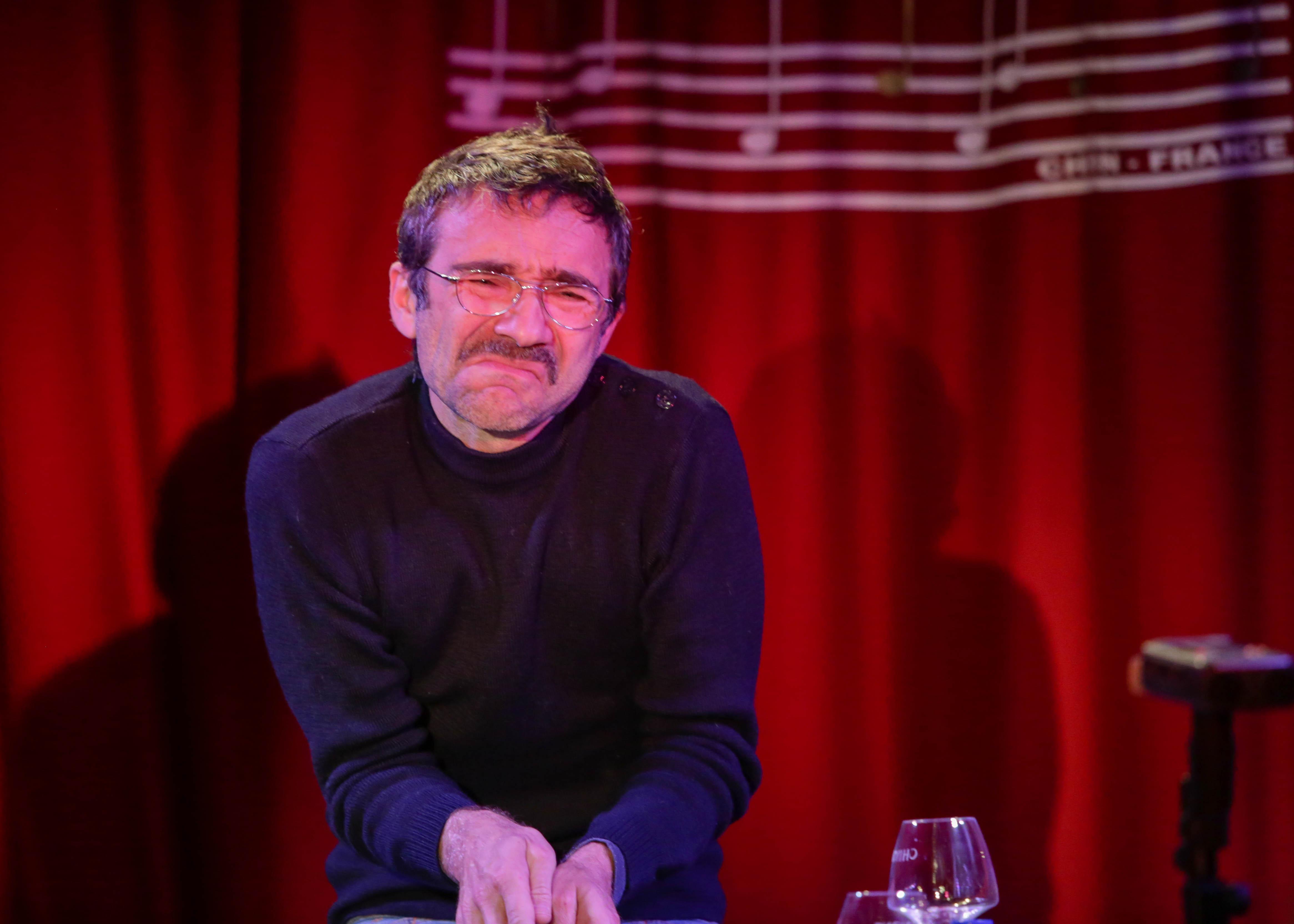 Didier Galas Lecture Café Français vendredi 6 novembre 2015