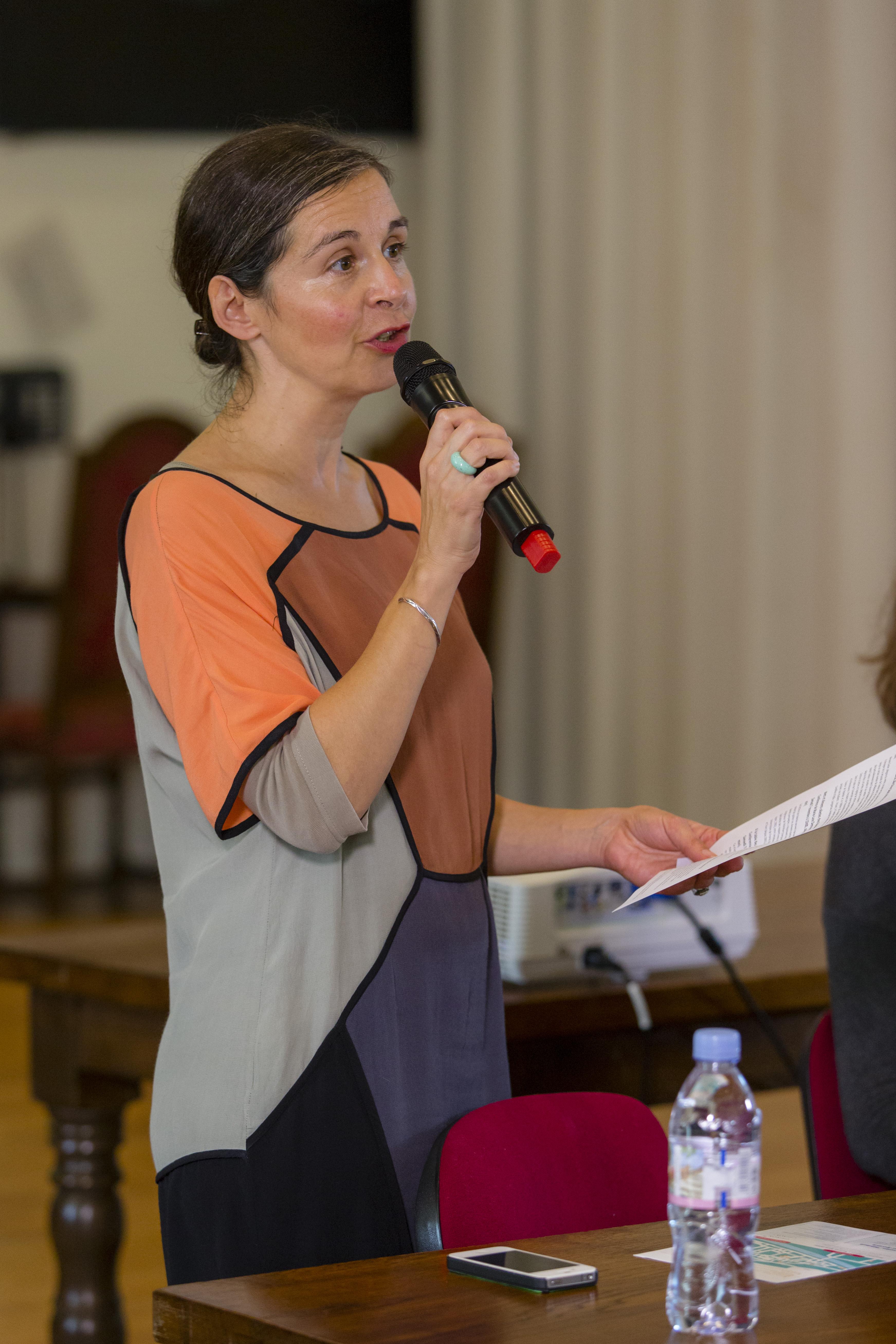 Mathilde Dutour présentation conférence 7 novembre 2015