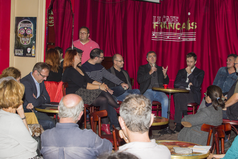 Table ronde au Café Français dimanche 8 novembre 2015