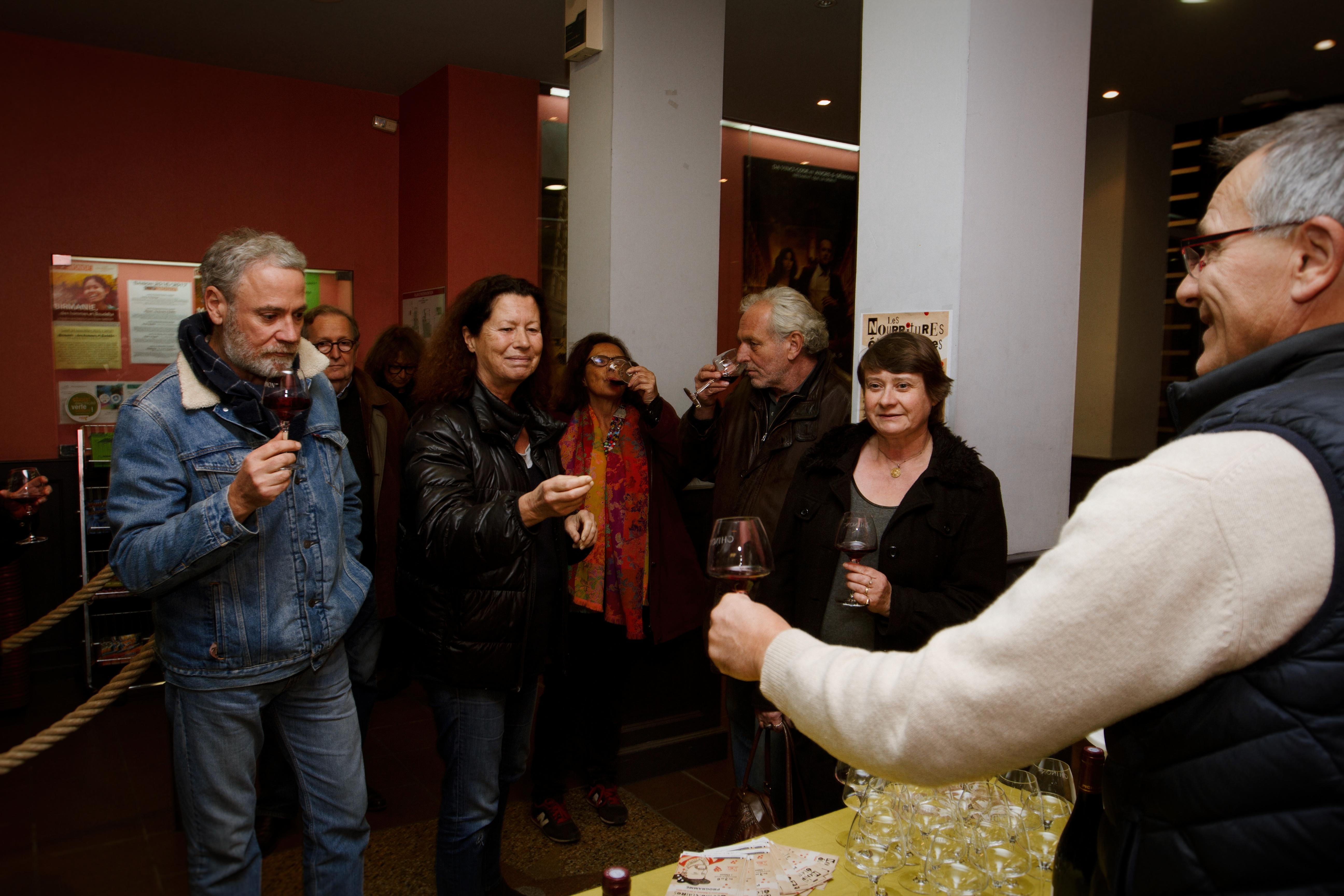 Jeudi 3 novembre - Dégustation de vins du Domaine Jourdan Pichard au cinéma