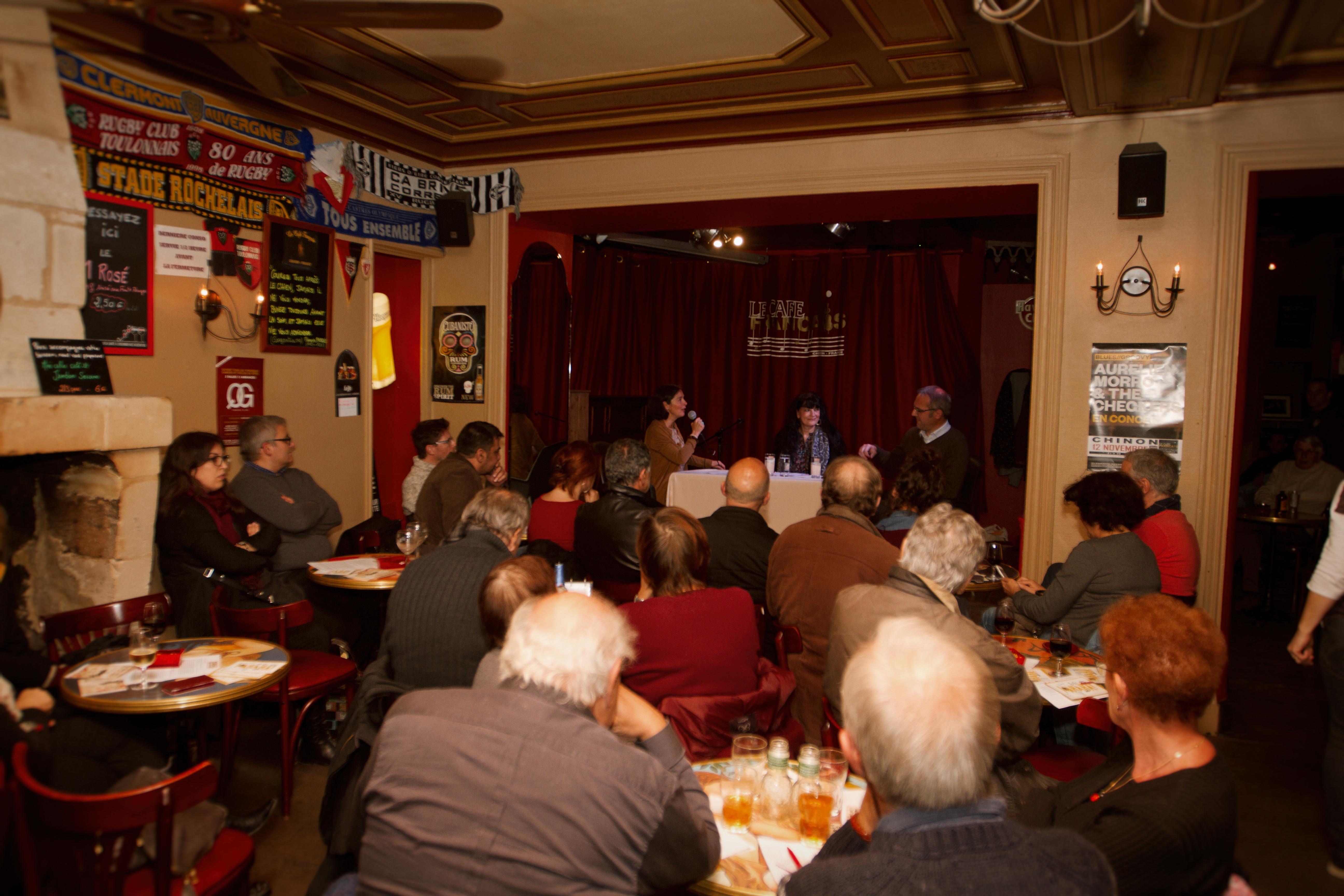Vendredi 4 novembre - Discussion sur les dangers du rire avec Marika Bret, DRH de Charlie Hebdo