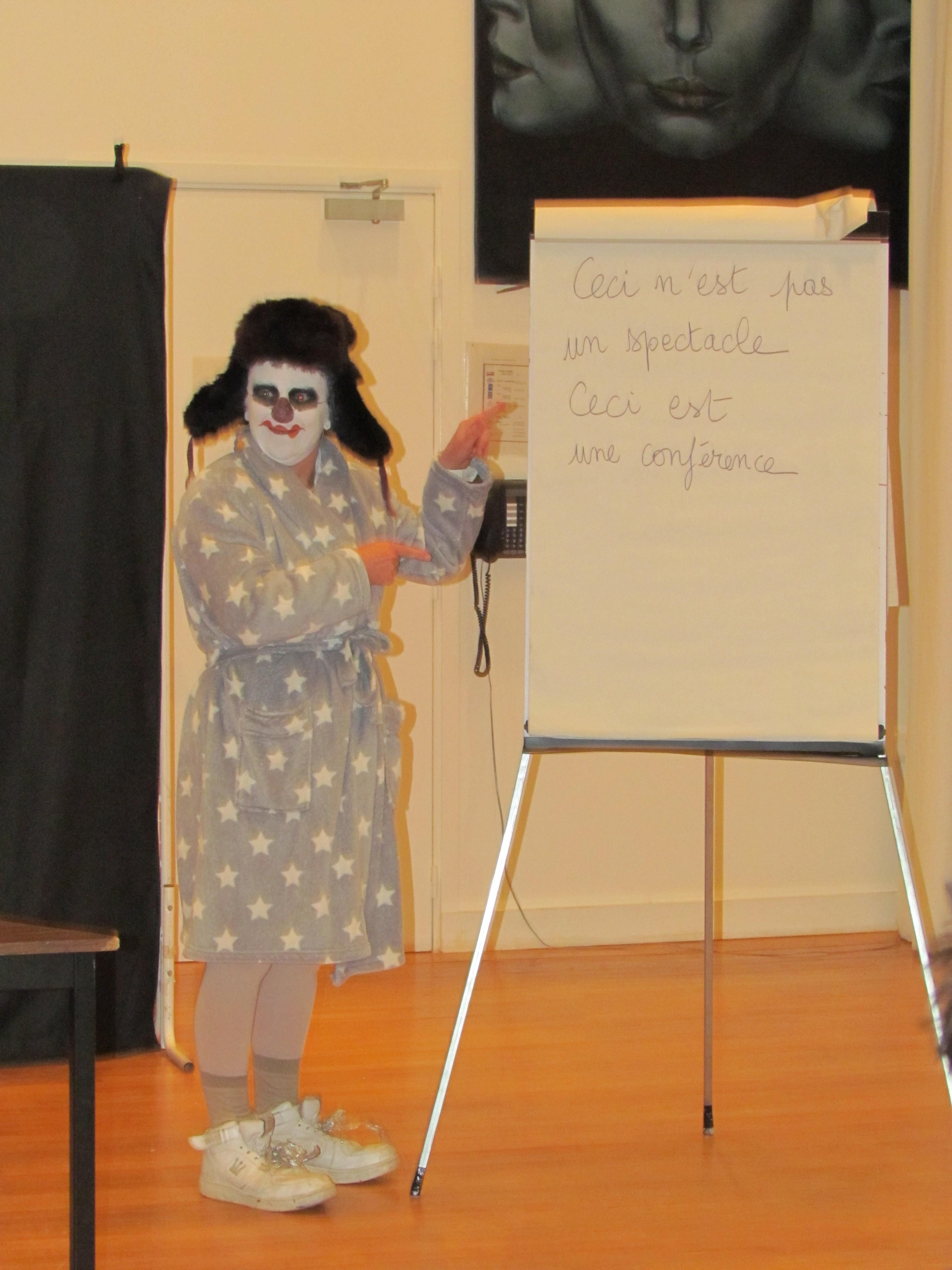 Samedi 5 novembre - Conférence sur le rire par Prosperpine