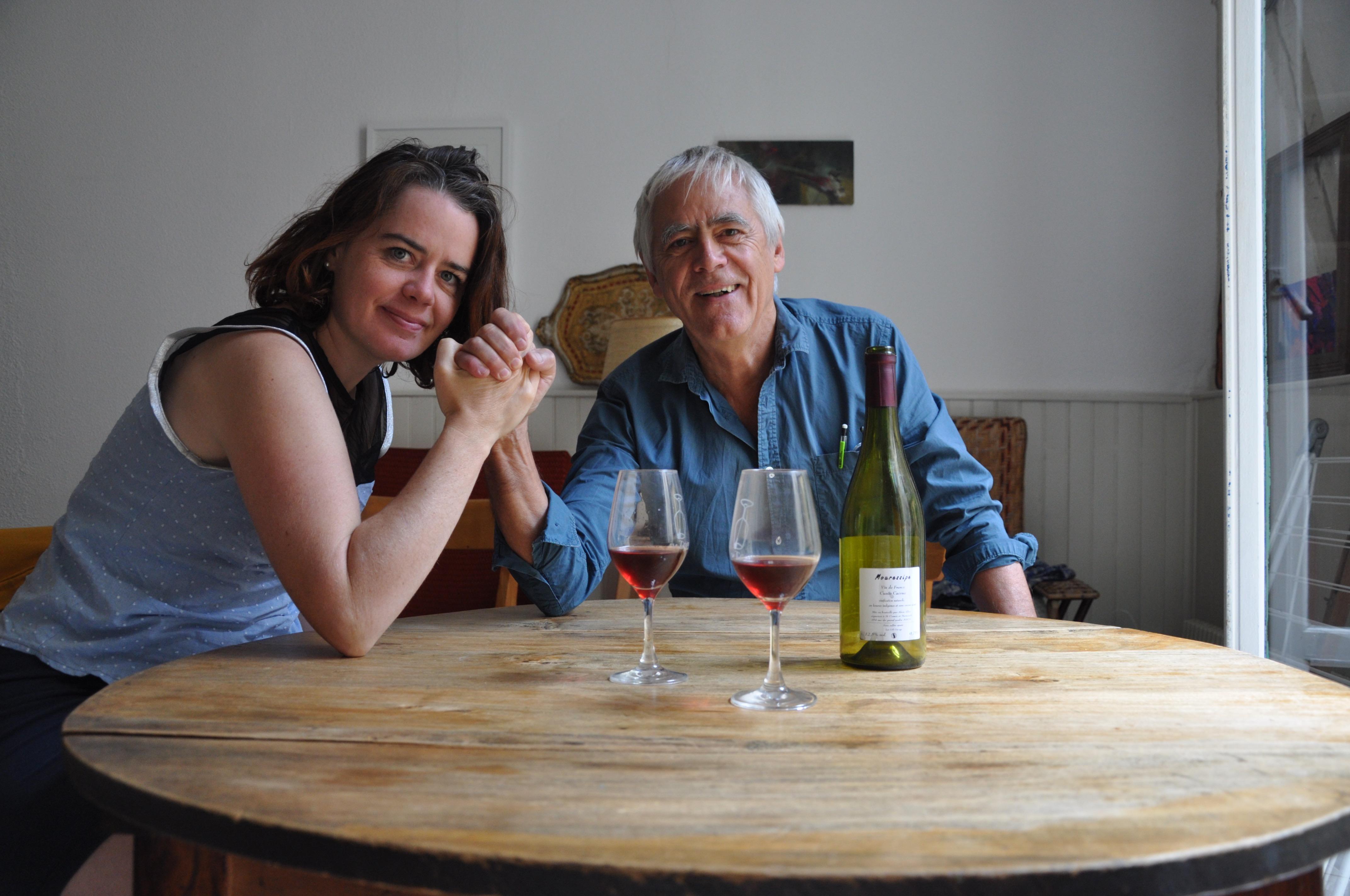 Jacques Jouet et Cécile Riou