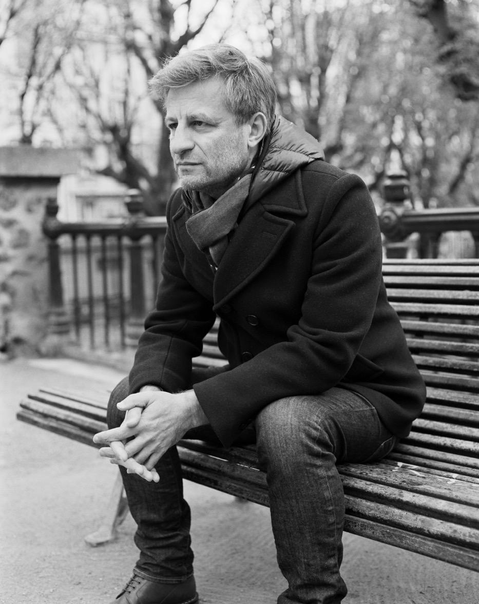 Jean-Yves Jouannais - Crédit phot o Alexandre Guirkinger